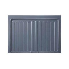"""Metallic Silver Drip Tray 34-1/2"""" W"""