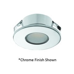 Loox 2022 12V LED Silver Spotlight Warm White <small>(#833.72.040)</small>