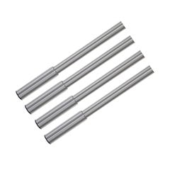 "Studio Table Leg Set Brushed Chrome 24""-31 inch H <small>(#653-70-ST)</small>"