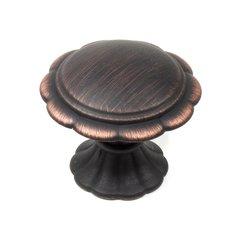 Fiori 1-3/8 Inch Diameter Regent Bronze Cabinet Knob