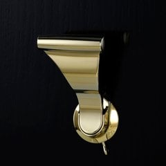 "UltraLatch For 1-3/8"" Doors - Bright Brass"