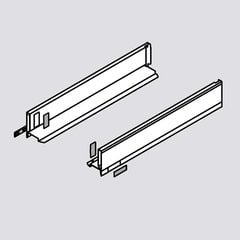 """Legrabox M 24"""" Drawer Profile Left/Right Stainless Steel <small>(#770M6002I)</small>"""