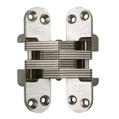 #416 Fire Rated Invisible Hinge Satin Stainless Steel