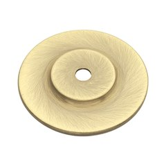 Cavalier 1-1/2 Inch Diameter Antique Brass Back-plate