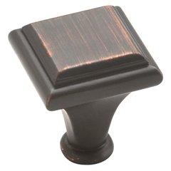 Manor 1 Inch Diameter Oil Rubbed Bronze Cabinet Knob