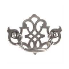 Cottage 3 Inch Center to Center Silver Stone Cabinet Bail Pull