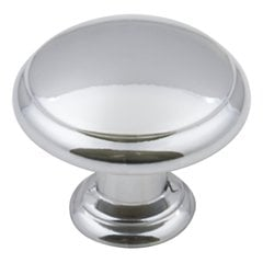 "Gatsby Cabinet Knob 1-3/16"" Dia Polished Chrome <small>(#3940-PC)</small>"