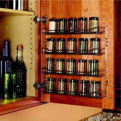 "Kessebohmer Spice Rack 9-5/8"" Wide Chrome Finish 543.19.260"