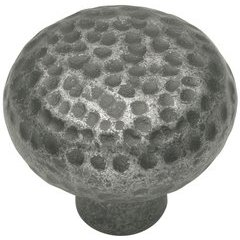 Kingston Knob 1-1/4 inch Diameter Old English Pewter