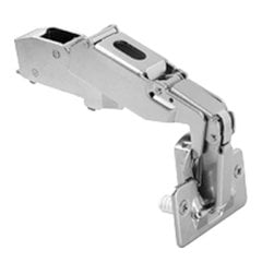 Clip-top 170 Degree Hinge Partial Overlay / Self-Closing w/