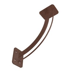 "San Juan Elevated Countertop Support 11"" X 11"" Bronze"