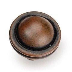 Kama 1-1/4 Inch Diameter Rust Cabinet Knob <small>(#23819)</small>