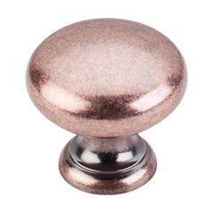 Somerset 1-1/4 Inch Diameter Antique Copper Cabinet Knob <small>(#M289)</small>
