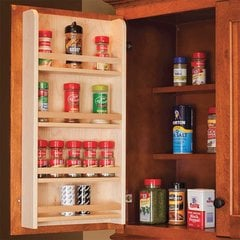 "Door Mount Spice Rack 18"" Wide"
