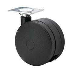 Furniture Caster With Swivel - Black