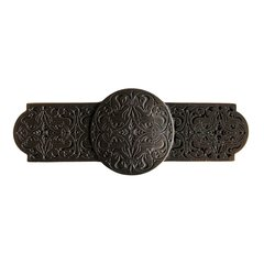 Olde World 3 Inch Center to Center Dark Brass Cabinet Pull <small>(#NHP-673-DB)</small>