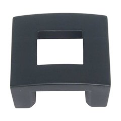 Centinel 1-1/4 Inch Center to Center Black Cabinet Pull