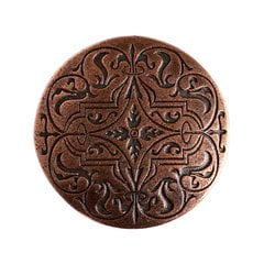 Olde Worlde 1-7/16 Inch Diameter Antique Copper Cabinet Knob