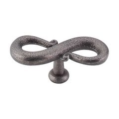 Normandy 3-1/4 Inch Length Pewter Cabinet Knob <small>(#M631)</small>