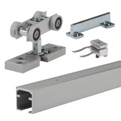 Grant XHD Single Sliding Door Track Sets