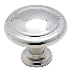 Reflections 1-1/4 Inch Diameter Polished Chrome Cabinet Knob