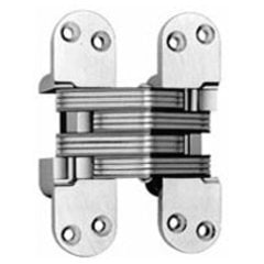 #220 Invisible Spring Closer Hinge Polished Chrome