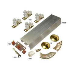 138F Series Bypass Track and Hardware Set for 2 Doors 48""