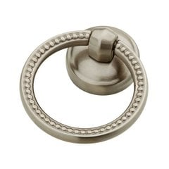Taryn 2-1/8 Inch Diameter Satin Nickel Cabinet Ring Pull