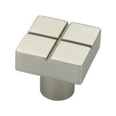 Urban Metals 13/16 Inch Diameter Matte Nickel Cabinet Knob <small>(#P03134-MN-C)</small>