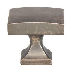 "Century Edge Knob 1-3/8"" Dia Verona Bronze <small>(#1201-10VB-P)</small>"