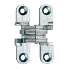#101 Invisible Hinge Satin Nickel