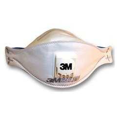 3M Particulate Respirator N95 with Exhalation Valve White <small>(#9211)</small>