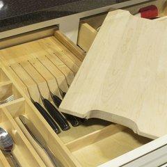 """QuikTRAY Knife Block 8.38"""" Wide <small>(#QT-KNIFE)</small>"""