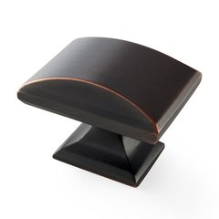 Candler 1-9/16 Inch Length Oil Rubbed Bronze Cabinet Knob <small>(#BP29368ORB)</small>