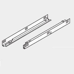 "Tandem 552H 15"" Drawer Slide W/ Std. Locking Devices <small>(#552H3810N)</small>"