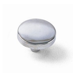 Tech 1-1/4 Inch Diameter Polished Chrome Cabinet Knob <small>(#34526)</small>