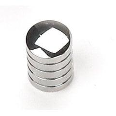 Delano 5/8 Inch Diameter Polished Chrome Cabinet Knob <small>(#26226)</small>