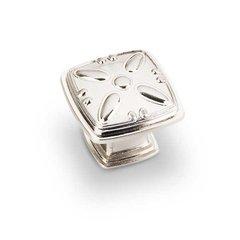 Milan 2 1-3/16 Inch Diameter Satin Nickel Cabinet Knob