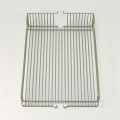 "Wire Basket Set (2) 16"" Wide Chrome"