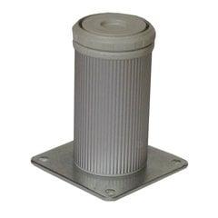 """Camar 6"""" Como Leg Plate Mount-Alumina <small>(#552-15-A0)</small>"""