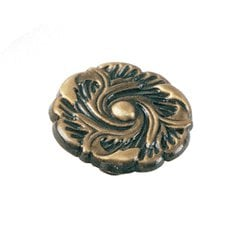 Classic Traditions 1-1/4 Inch Diameter Antique Brass Cabinet Knob <small>(#76505)</small>