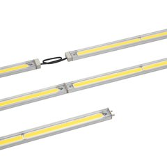 "Tresco International Tresco 12V 8"" SimpLED 2.0 LED 3000K Nickel L-SMPHO8-WNI-10"