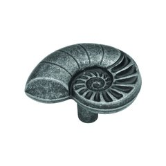 South Seas 1-1/2 Inch Diameter Vibra Pewter Cabinet Knob