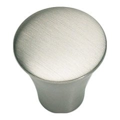 Fluted 7/8 Inch Diameter Stainless Steel Cabinet Knob