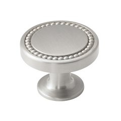 Carolyne 1-3/8 Inch Diameter Polished Nickel Cabinet Knob <small>(#BP36580PN)</small>