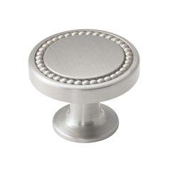 Carolyne 1-3/8 Inch Diameter Polished Nickel Cabinet Knob