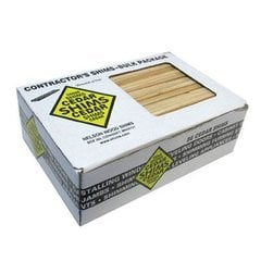 Nelson Wood Shims 8 inch x 1-1/2 inch Pine-12/Box