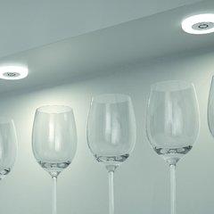 Hafele Loox 2027 12V LED Frosted White Spotlight Warm White 833.72.050