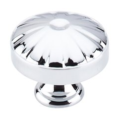 Dakota 1-1/4 Inch Diameter Polished Chrome Cabinet Knob