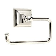Markham Tissue Roll Holder Polished Nickel